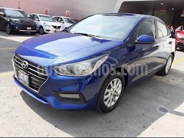 Foto venta Auto usado Hyundai Accent 5p GL Mid L4/1.6 Man (2018) color Azul precio $219,000