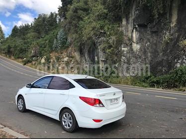 Hyundai Accent 1.4 GL Ac usado (2014) color Blanco precio $6.200.000