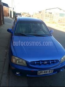 Hyundai Accent 1.5 GLS usado (2001) color Azul precio $1.500.000