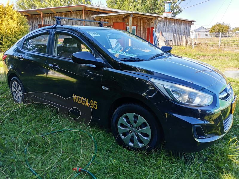 Hyundai Accent 1.4L GL usado (2017) color Negro precio $21.000.000