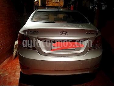 Hyundai Accent 1.4 GL Ac usado (2012) color Plata precio $3.500.000