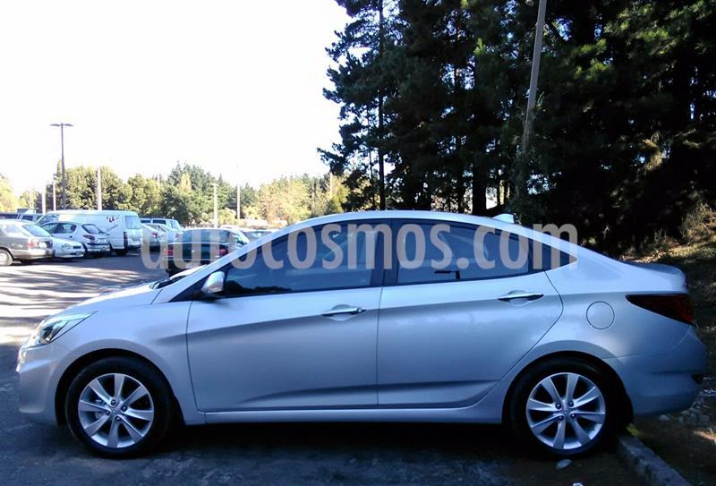 Hyundai Accent 1.6 GL Ac usado (2016) color Plata precio $3.800.000