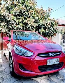 Hyundai Accent 1.4 GL Ac usado (2016) color Rojo precio $5.900.000