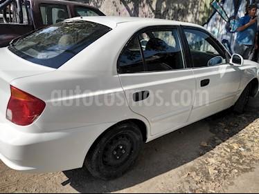 Hyundai Accent 1.6 GL  usado (2005) color Blanco precio $2.000.000