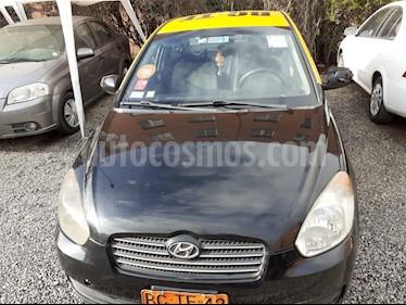 Hyundai Accent 1.6 GL Taxi  usado (2010) color Negro precio $5.250.000