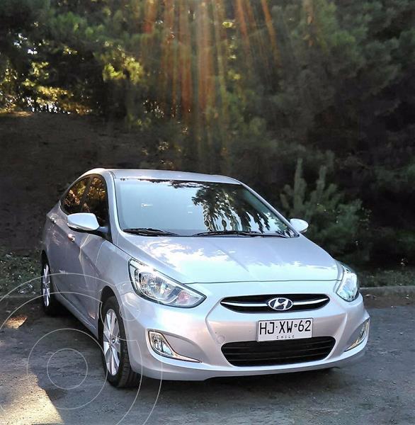 Hyundai Accent 1.6 GL Ac usado (2017) color Plata precio $5.500.000