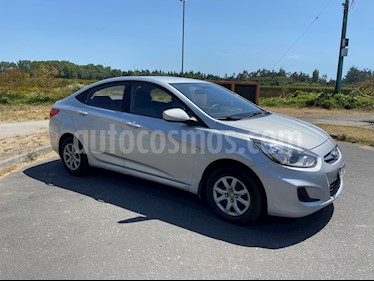 Hyundai Accent 1.4 GL  usado (2011) color Plata precio $4.500.000