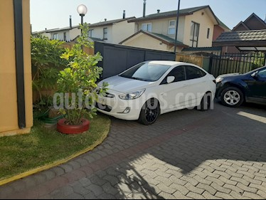 Hyundai Accent 1.4 GL Ac Plus usado (2016) color Blanco precio $5.800.000