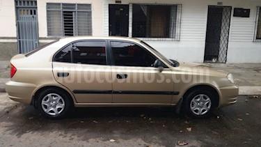 Hyundai Accent GL 1350 cc usado (2004) color Bronce precio $11.800.000
