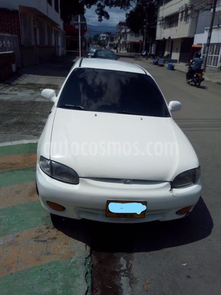 Hyundai Accent Vision 1.4 GLS Mec 4P usado (1998) color Blanco precio $6.500.000