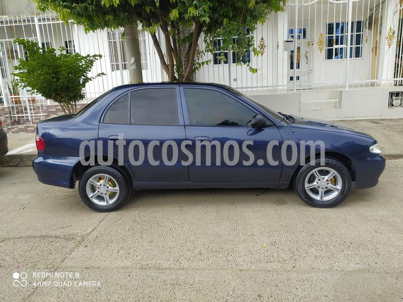 Hyundai Accent GL 1.3L  usado (2003) color Azul precio $11.000.000
