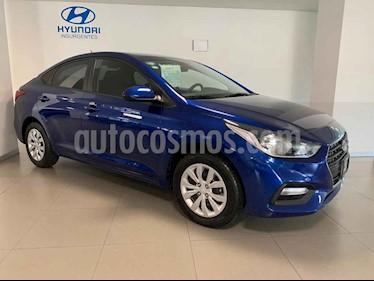 Foto venta Auto usado Hyundai Accent GL Aut (2018) color Azul precio $219,000