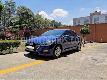 Hyundai Accent GL Mid Aut usado (2018) color Azul precio $230,000