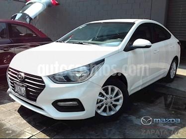 Foto venta Auto Seminuevo Hyundai Accent GL Mid Aut (2018) color Blanco precio $225,000