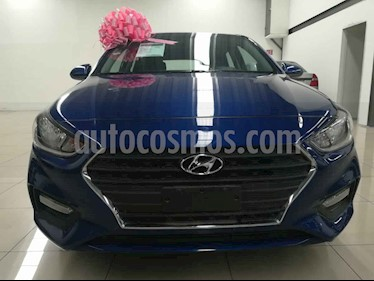Foto venta Auto usado Hyundai Accent GL Mid Aut (2018) color Azul precio $240,000