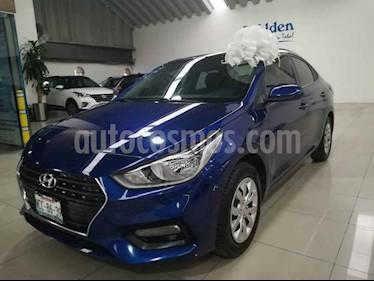 Foto venta Auto usado Hyundai Accent GL Mid Aut (2018) color Azul precio $210,000