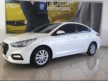 Foto venta Auto usado Hyundai Accent GL Mid Aut (2018) color Blanco precio $208,900