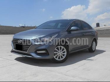 Foto venta Auto usado Hyundai Accent GL Mid (2018) color Gris precio $210,000