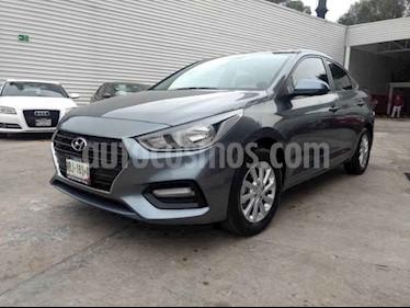 Foto venta Auto usado Hyundai Accent GL Mid (2018) color Gris precio $220,000
