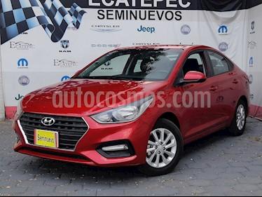 Foto venta Auto usado Hyundai Accent GL Mid (2018) color Rojo precio $219,000