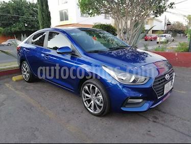Hyundai Accent GL Mid usado (2018) color Azul precio $198,000