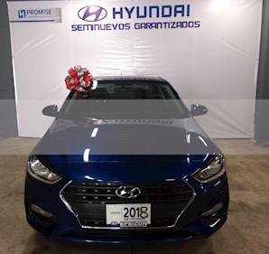 Foto venta Auto usado Hyundai Accent GL Mid (2018) color Azul precio $209,900