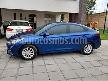 Foto venta Auto usado Hyundai Accent GL Mid (2018) color Azul precio $171,000