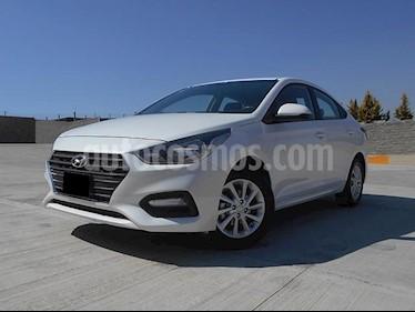 Foto venta Auto usado Hyundai Accent GL Mid (2018) color Blanco precio $218,000