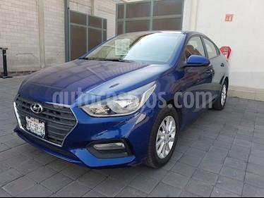 Foto venta Auto usado Hyundai Accent GL Mid (2018) color Azul precio $240,000