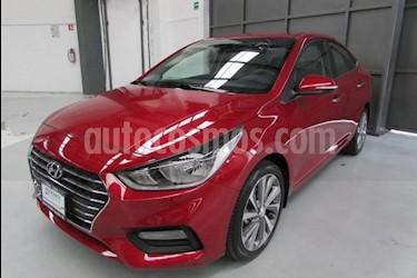 Foto venta Auto usado Hyundai Accent GL (2019) color Rojo precio $299,000