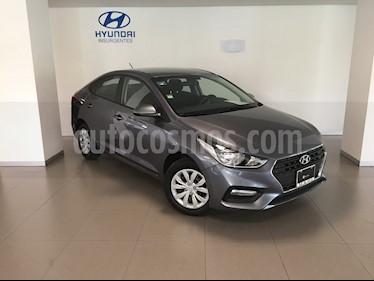 Foto venta Auto usado Hyundai Accent GL (2019) color Gris precio $240,000