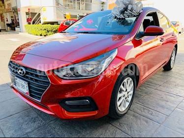 Foto venta Auto usado Hyundai Accent GL (2018) color Rojo precio $205,000