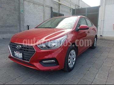 Foto venta Auto usado Hyundai Accent GL (2018) color Rojo precio $210,000