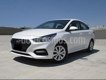 Foto venta Auto usado Hyundai Accent GL (2018) color Blanco precio $218,000