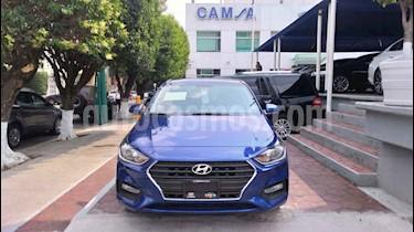 foto Hyundai Accent GL usado (2018) color Azul precio $213,900