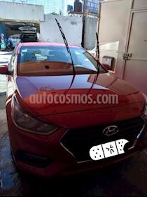 Hyundai Accent GL usado (2018) color Rojo precio $195,000
