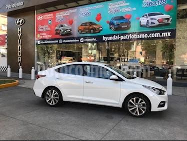 Foto venta Auto usado Hyundai Accent GLS Aut (2018) color Blanco precio $280,060