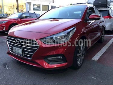 Foto Hyundai Accent GLS Aut usado (2018) color Rojo precio $235,000