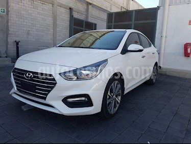 Foto venta Auto Seminuevo Hyundai Accent GLS Aut (2018) color Blanco precio $290,000