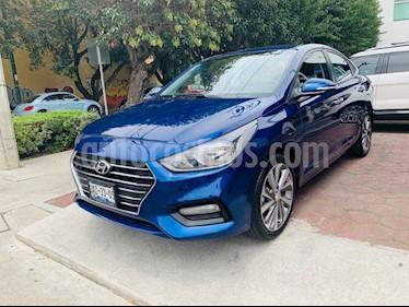 Foto venta Auto usado Hyundai Accent GLS Aut (2018) color Azul precio $231,901