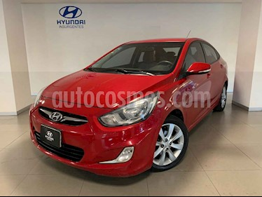 Foto Hyundai Accent GLS Aut usado (2012) color Rojo precio $122,952