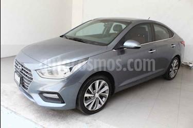 Foto venta Auto usado Hyundai Accent GLS Aut (2018) color Gris precio $258,000