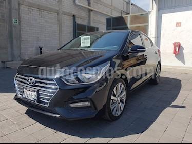 Foto venta Auto usado Hyundai Accent GLS Aut (2018) color Negro precio $280,000
