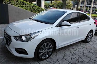 Foto venta Auto usado Hyundai Accent GLS Aut (2018) color Blanco precio $270,000