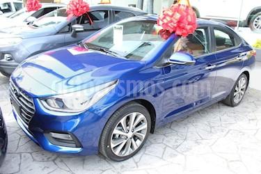 Foto venta Auto usado Hyundai Accent GLS Aut (2018) color Azul precio $284,800
