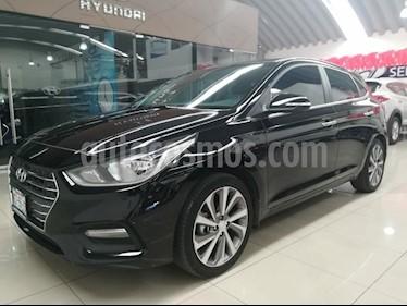 Foto venta Auto Seminuevo Hyundai Accent GLS Aut (2018) color Negro precio $266,000