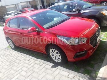 Foto venta Auto usado Hyundai Accent HB GL Aut (2018) color Rojo precio $209,000