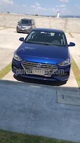 Hyundai Accent HB GL Mid Aut usado (2018) color Azul precio $210,000