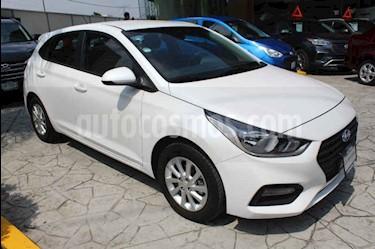 Hyundai Accent HB GL Mid usado (2018) color Blanco precio $219,000