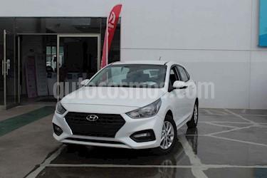Foto venta Auto usado Hyundai Accent HB GL Mid (2019) color Blanco precio $244,000